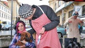Aktivisté proti prodeji ryb: Kapři jako psi!
