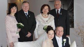 Václav Klaus ml. se tajně oženil s mladou přítelkyní!