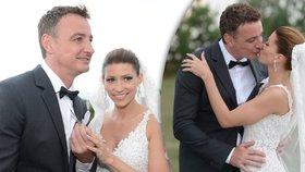 Krásná nevěsta Kerndlová: Co jí popřál prezident Zeman ke svatbě?