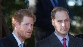 6 rozdílů mezi královskými bratry Harrym a Williamem
