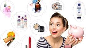 10 dokonalých kosmetických produktů, které stojí za každý halíř!