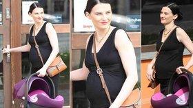 Frühlingová bez diskuzí těhotná: Ukázala bříško a nakupovala potřeby pro své dítě!