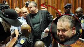 V Jihoafrické republice vrcholí soud s Krejčířem: Ten stále věří, že vyhraje