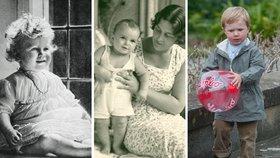Královské děti: Podívejte se na nejkrásnější fotky malých princů a princezen