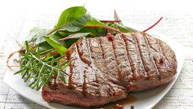 Masové orgie: Hovězí steak s dipem