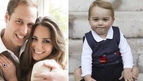Kate, nebo William? Víme, kterému z rodičů se George podobá víc!