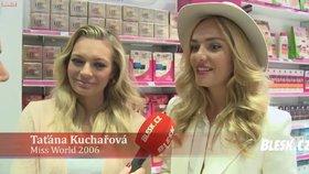 Video: Na co se těší Lucie Borhyová a Taťána Kuchařová o Vánocích nejvíce?