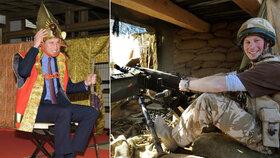 Princ William oslňuje Japonce, Harry chce seknout s armádou