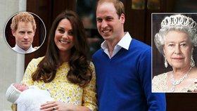 Spojené království slaví: Británie má svou dlouho očekávanou princeznu