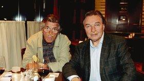Karel Gott a Vinnetou Pierre Brice: Proč si strkali křupky do nosu?
