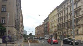 Na magistrále u Nuseláku chystají nové semafory. Budou tu stát natrvalo