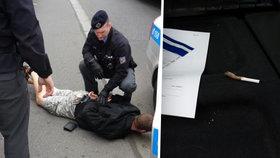 Dealer házel drogy do Vltavy: Na pervitin se vrhla labuť
