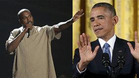 Pobavený Obama: Raper Kanye West a prezidentem?