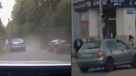 Spratek ze zlaté mládeže ujížděl policistům v Kladně, uskakovala před ním i máma s kočárkem