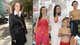 Vendulka Křížová váží i po třech dětech 53 kilo! Prý i díky stárnoucímu manželovi