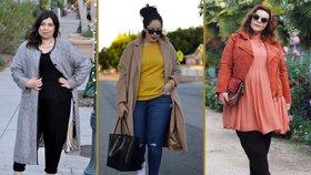 Boubelky, odvažte se: Podzimní trendy podle XL blogerek