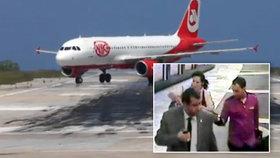 Kvůli Editě nouzově přistálo letadlo: Jenom proto, že šla na WC!
