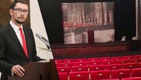 Větší prostor pro Ovčáčka: Na Hradě vymetli pavučiny a našli kinosál