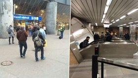 Záhadný puch: pražské hlavní nádraží i Můstek nelibě voní. Víme proč