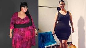 XXL modelka zhubla téměř sto kilogramů. Nevešla  se do sedačky v letadle!
