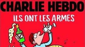Charlie Hebdo reaguje na teror v Paříži: Mají zbraně, my šampaňské