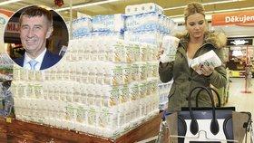 Hospodyňka Babišová: Kolik utratí týdně za jídlo?