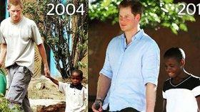 Princ nezapomíná! Harry se po 11 letech setkal s kamarádem sirotkem