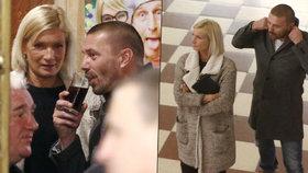 Odkopnutý Řepka poprvé po rozchodu s Erbovou na veřejnosti: Vyvedl pohlednou blondýnu!