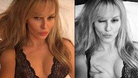 Ruku na prso: Krainová se chlubí hotelovým sexem a všem ho doporučuje