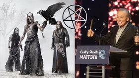 Satanisté chystají smrt Karla Gotta, tvrdí blogerka Petra Bostlová