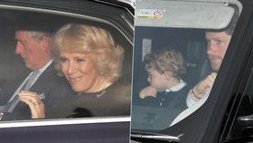Sláva v Buckinghamském paláci: Na vánočním obědě se sešli všichni členové královské rodiny, až na jednoho