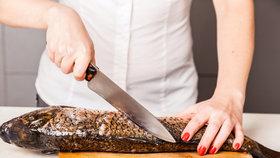Kapr krok za krokem: Místo podkov zkuste filet nebo kapří hranolky!
