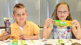 Velký test: Děti poznají poctivou ZMRZLINU!