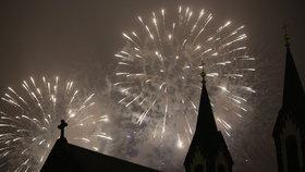 Praha zakázala velké ohňostroje: Vyhláška začne platit v dubnu
