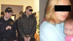 Zabil hejtmanovi z Ústí dceru: Soud ho poslal na 12 let do vězení