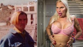 Transsexuál se za podpory manželky mění z muže v ženu, zrůdně se však zohyzdil