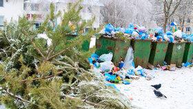 Bude se o Vánocích v Praze hromadit odpad? Program svozu tomu chce zabránit