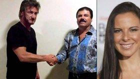 Sean Penn a Kate del Castillo jsou v ohrožení života kvůli narkobaronovi, tvrdí expert