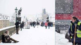 Neobvyklé teplo vystřídaly sněhové bouře. Ochromily střední i východní Evropu