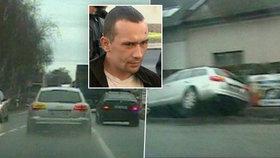 Šílený Polák (23) ohrozil životy lidí: Ukradeným Audi ujížděl 200 km/h
