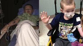 Desetiletý chlapec se pomalu mění v kámen! Má extrémně vzácnou nemoc, na kterou není lék