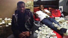 Raper 50 Cent požádal o osobní bankrot, pak se doma válel v hromadách dolarů!