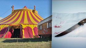 Hozený nůž se dívce zabodl do zad: Jen jsme si hráli na Cirkus Humberto, tvrdil muž