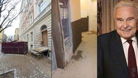 Sbíječky, prach a potkani! Z domu, který spravuje Luděk Munzar, utíkají nájemníci