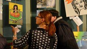 Umění pro každého: Na Free Art Friday si můžete zdarma ukořistit obraz od začínajícího tvůrce