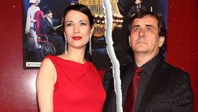 Před rokem praskl rozchod herečky Kostkové a režiséra Kracika: Jak a s kým žijí dnes?