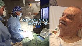 Pacient z Nemocnice Motol Josef Prokeš (81): Při operaci mu přestalo bít srdce