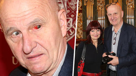 Spisovatel Ondřej Neff vyrazil do společnosti: Děsil okem podlitým krví