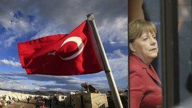 Merkelová oznámila plán dohody o migraci. Lídry EU čeká finále s Tureckem