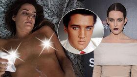 Vnučka Elvise Presleyho točí nahá: Jako studentka se živí eskortem!
